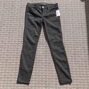 GENETIC black tapestry skinny jeans